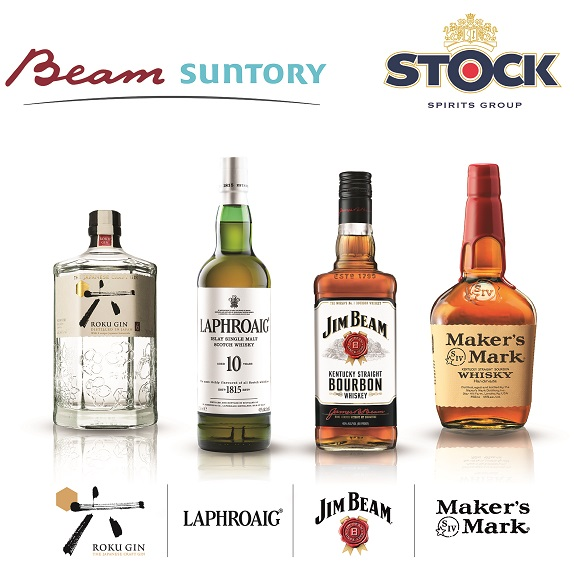 STOCK SPIRITS NUOVO DISTRIBUTORE PER BEAM SUNTORY IN ITALIA