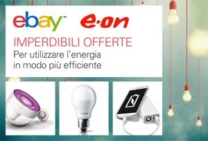low priced a6ab3 fc6f3 E.ON-eBay, lo shopping online diventa «efficiente ...