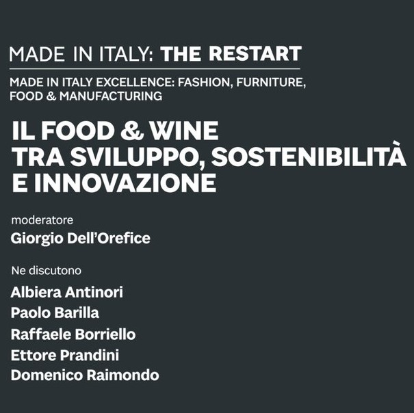 MADE IN ITALY, FOOD E WINE: COME RIPARTIRE?